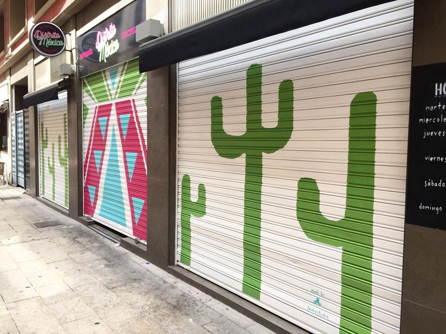 Distrito Mexico - Illustration 2 - Zaragoza