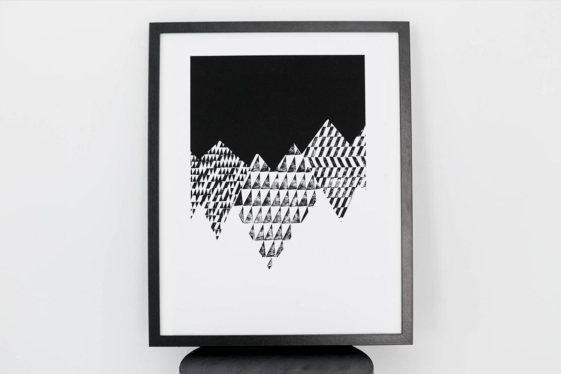 Art Prints - Montañas